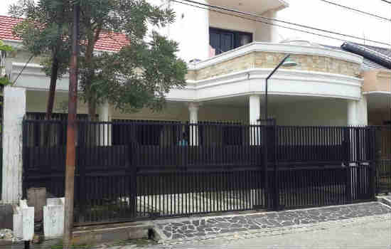 rumah dijual di darmo permai selatan, surabaya
